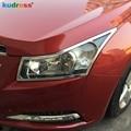 Для Chevrolet Cruze 2009 2010 2011 2012 2013 2014 ABS Хромированная пластиковая фара крышка Задняя лампа отделка автомобильные аксессуары