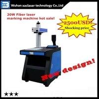 Сделано в Китае ЧПУ волоконно лазерная маркировочная машина 20 Вт/30 Вт/50 Вт