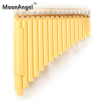 New Double Pipes Pan Flute 32 Pipes Left Hand Pan Pipe ABS Plastic Pan Pipe High Quality Musical Instrument