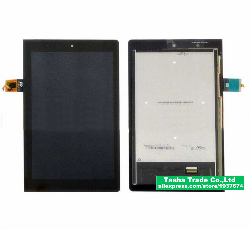 ФОТО For Lenovo tablet yoga 2 830 830F Touch Screen Panel Digitizer Glass LCD Display Assembly Replacement