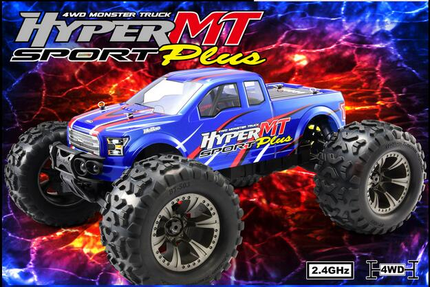 OFNA/HOBAO RC RACING The New 1/8 Hyper MTe plus Roller 80% Assembled Ford F-150 Violent wild Roller ofna hobao racing 1 8 hyper mt plus op 0083n 2psc set thick drive shaft new front rear drive shaft for rc parts