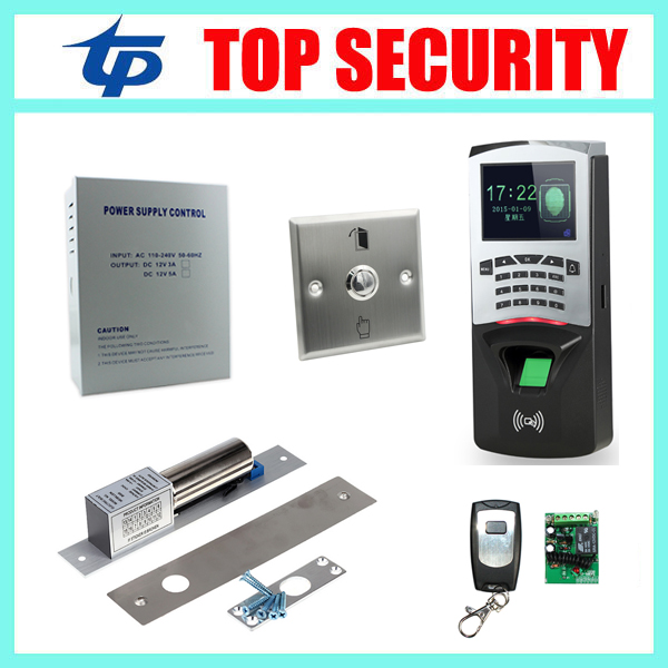 Biometric fingerprint recognition door access control system TCP/IP fingerprint access controller with RFID card reader systems f807 biometric fingerprint access control fingerprint reader password tcp ip software door access control terminal with 12 month