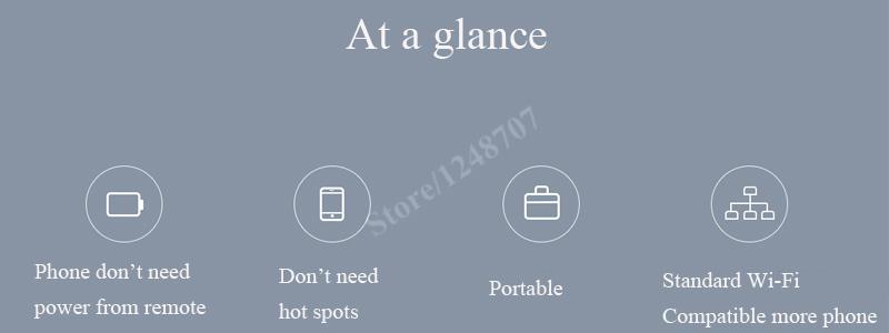 Xiaomi drone wireless receiver 5