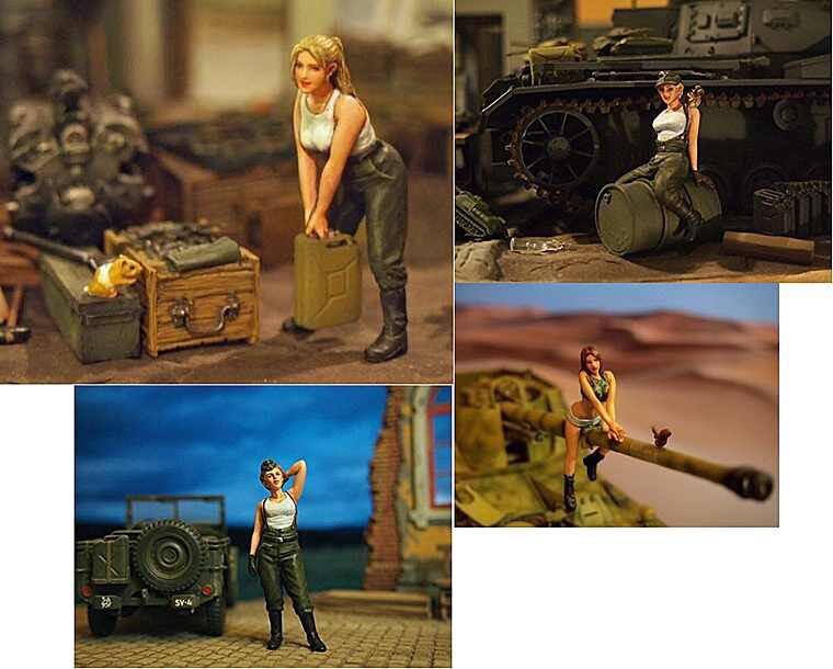 35607 German Women's Maintenance Force Member Group