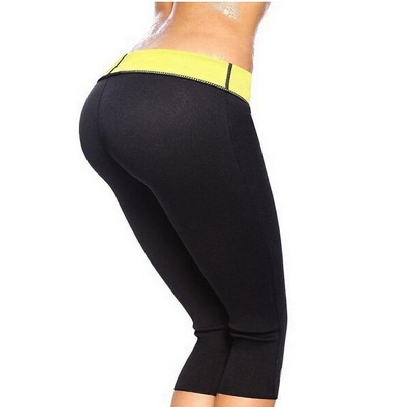 Mujeres BodyBuilding Neopreno Sauna Shapers Sudor Mujer Control Bragas Pantalones Adelgazamiento Fitness Super Stretch Elastic Shapers