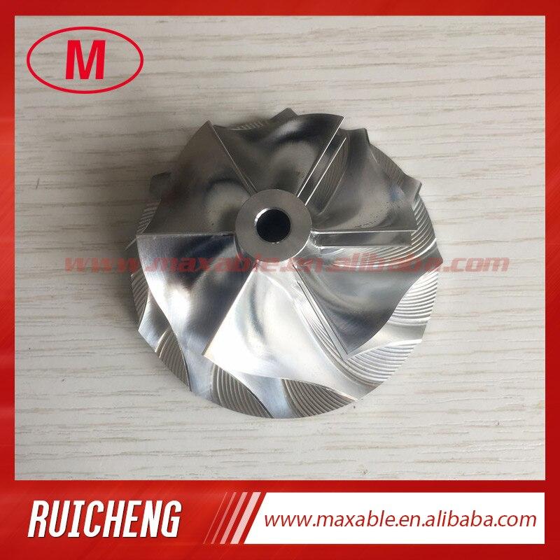 T04B 54 14 69 96mm 409179 0024 6 6 blades turbo billet milling aluminum 2024 compressor