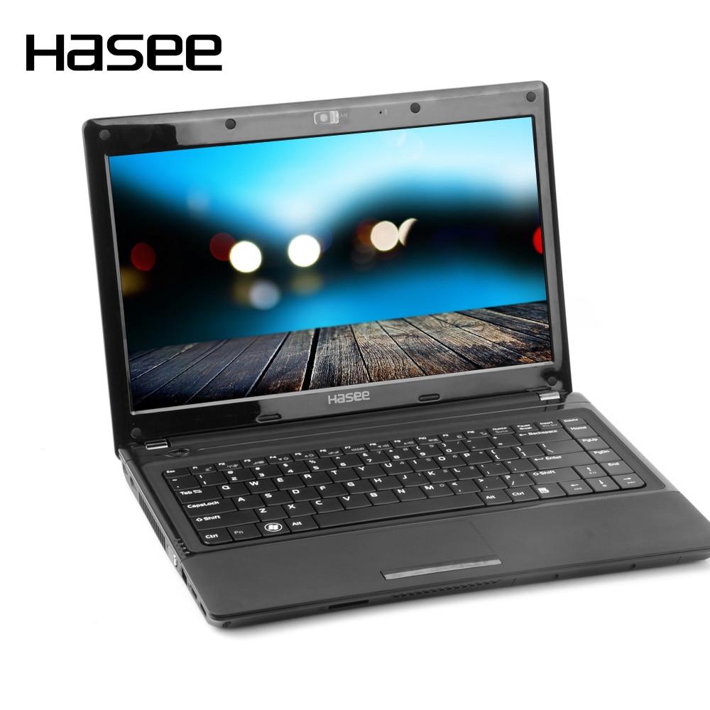 """Hasee a480b-a29d1 дешевые игровой ноутбук Тетрадь ПК для Intel Dual Core 2950 м Процессоры 4 ГБ DDR3 500 ГБ 14 """"1366*768 Дисплей"""
