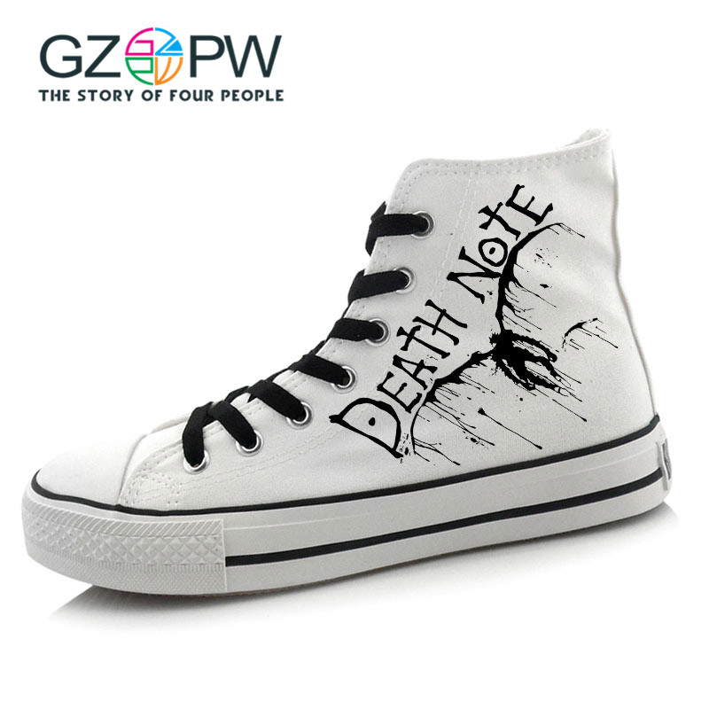 Gzpw Cosplay Death Note  Casual shoes High help Lovers shoes men and women Fashion and leisure Student shoes 35-43