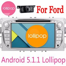 Backup camera+Latest quad core autoradio central multimedia android5.1 For Ford Focus 2015 car dvd autoradio gps navigation play