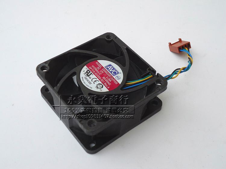 Livraison gratuite. 6025 12 v 0.26 A quatre fils PWM vitesse contrôlée DS06025R12UP005 ventilateurs de refroidissement