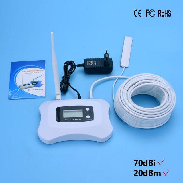 Высокое качество! Smart 900 мгц Мини GSM Репитер Мобильного Телефона усилитель Сигнала 2 г сотовый Усилитель сигнала с ЖК-ДИСПЛЕЕМ, для GSM 2 Г Голос