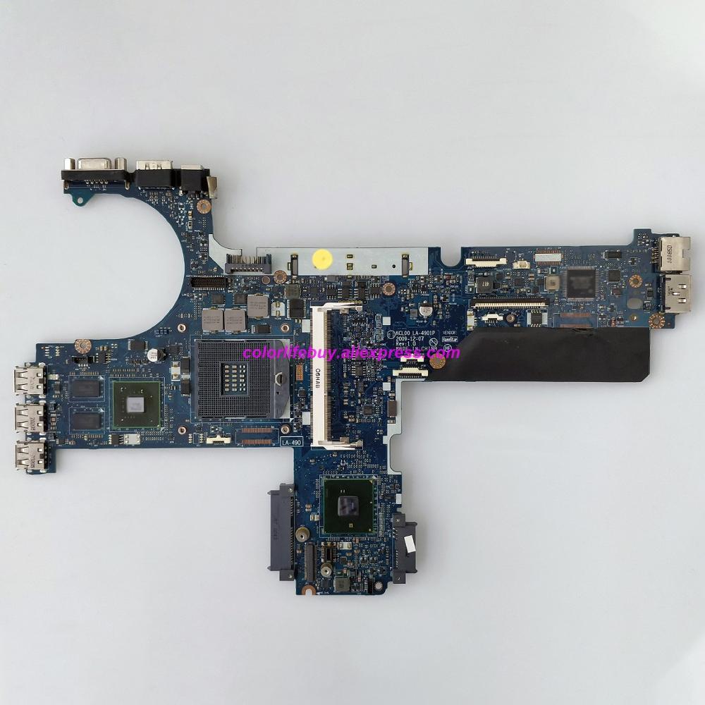 Genuine 594026 001 KCL00 LA 4901P w N10M NS S B1 GPU QM57 Laptop Motherboard Mainboard for HP EliteBook 8440p Series NoteBook PC-in Laptop Motherboard from Computer & Office