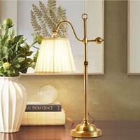 Pure Copper Landing Led Desk Lamps Touch Table light Luminarias Modern Desk Lamp Reading Bed lighting Led Table lights 220v