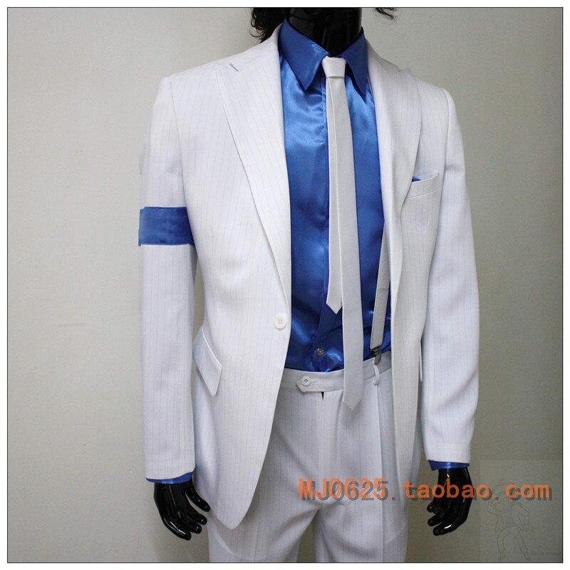 MICHAEL JACKSON SMOOTH CRIMINAL JACKET UPGRADED! coat cosplay costume