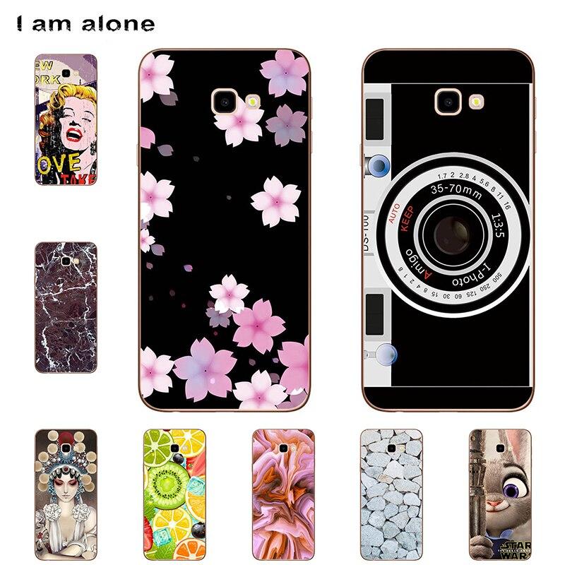 Я только телефон чехлы для samsung Galaxy J4 плюс J415 2018 6,0 дюймов Мягкий ТПУ телефона Модные Симпатичные Shell J4 премьер доставка