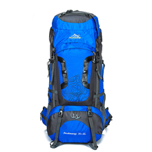 80L Large Backpack Waterproof outdoor Travel Bags Camping Hiking Climbing Backpacks Waterproof Rucksack Sport bag цена в Москве и Питере