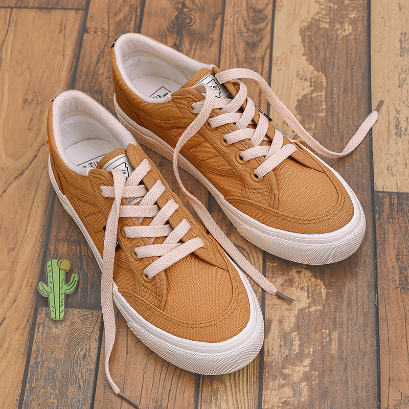 2018 spring new shoes white shoes female wild Korean students canvas shoes 21