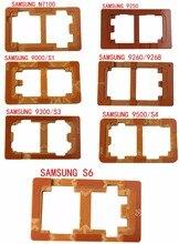 Envío gratis samsung 9000/s1/s3/s5/s6 teléfono pegado molde herramienta de reparación de reparación de la pantalla del teléfono móvil