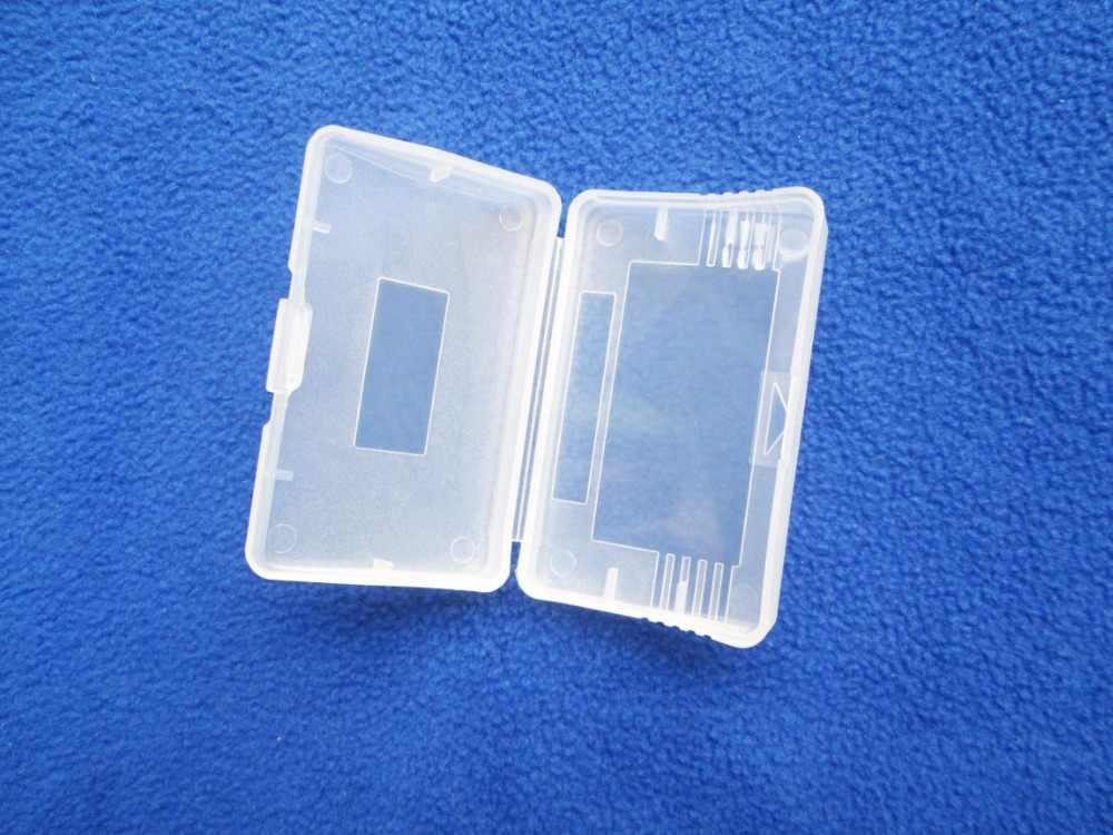 1 x البلاستيك أرواق لعب مربع خرطوشة حالات لنينتندو GBA SP لعبة فتى لعبة فتى ل GBA حامي حامل قذيفة الغبار