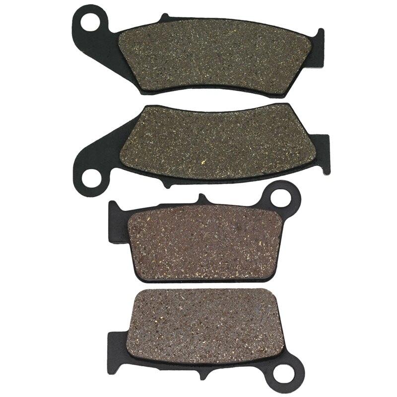 Передние и задние тормозные колодки Cyleto для мотоцикла Kawasaki KXF250 KX250F KXF 250 KX450 KX450F KXF 450 04-17 KLX450R KLX 450R 2008-2012