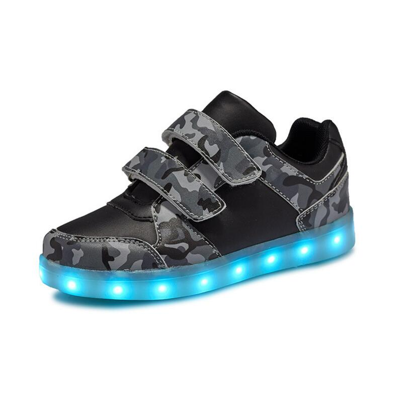 Eur25-36 // USB Basket Led Children Lighting Shoes With Light Up for Girls Luminous Sneakers Glowing Shoe enfant Boy KidsEur25-36 // USB Basket Led Children Lighting Shoes With Light Up for Girls Luminous Sneakers Glowing Shoe enfant Boy Kids