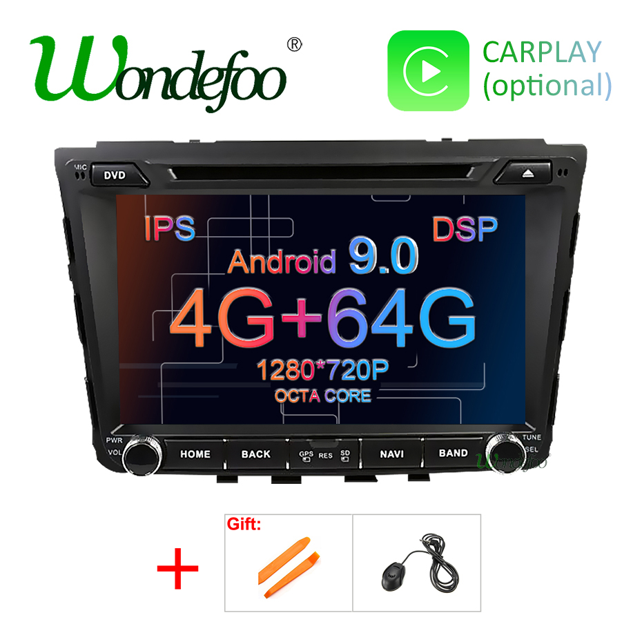 DSP 4G 64G Android 9 0 IPS SCREEN AV Output 2 din DVD PLAYER For HYUNDAI