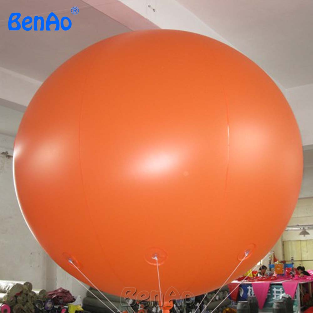 AO058L  2M hot selling inflatable advertising  Helium Balloon Ball PVC  helium balioon / inflatable sphere/sky balloon for sale