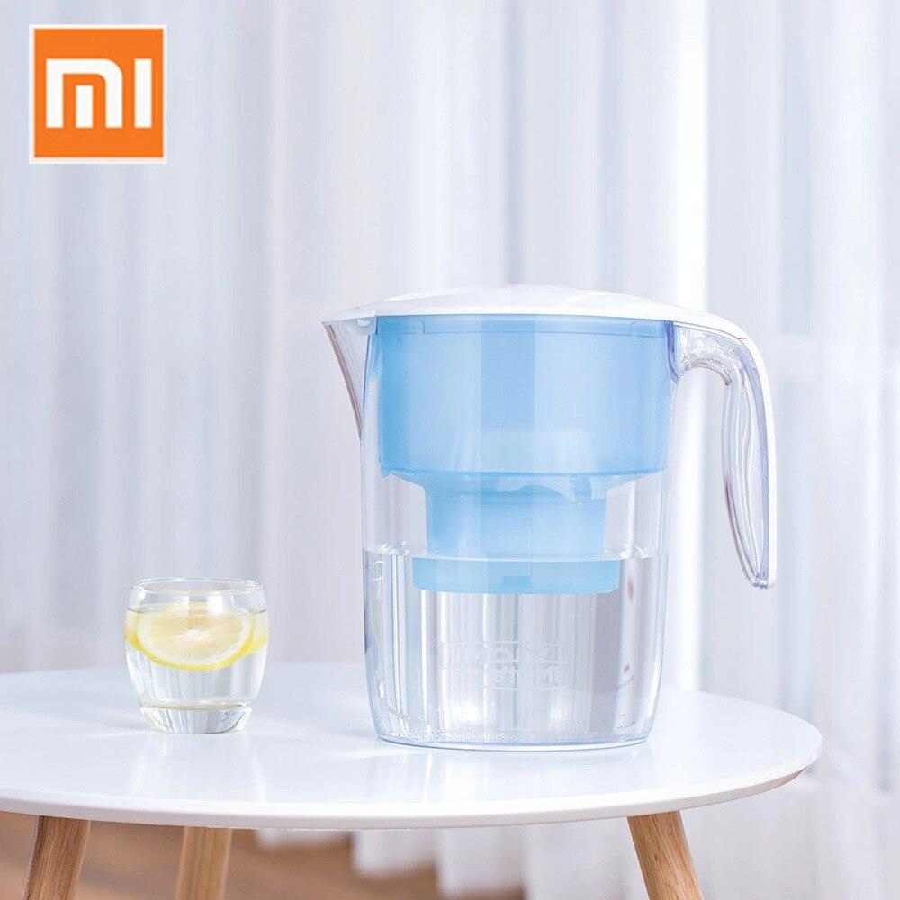 Xiao mi VIO mi 3.5L фильтр для воды кувшин фильтрации дозатор чашки 7 многоцелевой фильтры Сяо mi очиститель воды для офис