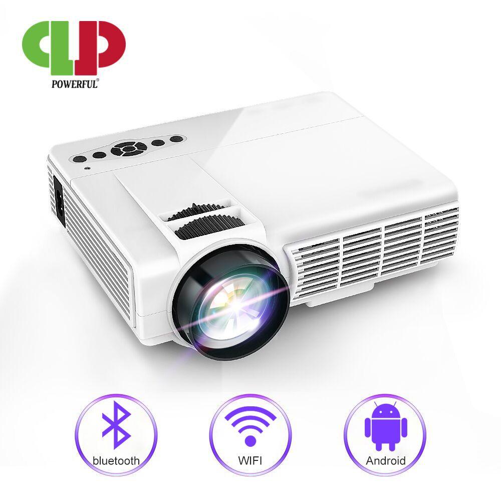 Puissant MINI projecteur Android projecteur LED Portable Home cinéma projecteur proyecteur Support Bluetooth WIFI projecteur Full HD