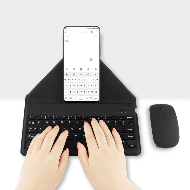 US $23 87 5% OFF|Bluetooth Keyboard For Samsung Galaxy S9 S8 S7 S6 edge S8+  S5 S9+ note8 Note 8 7 6 Mobile phone Wireless Bluetooth keyboard Case-in