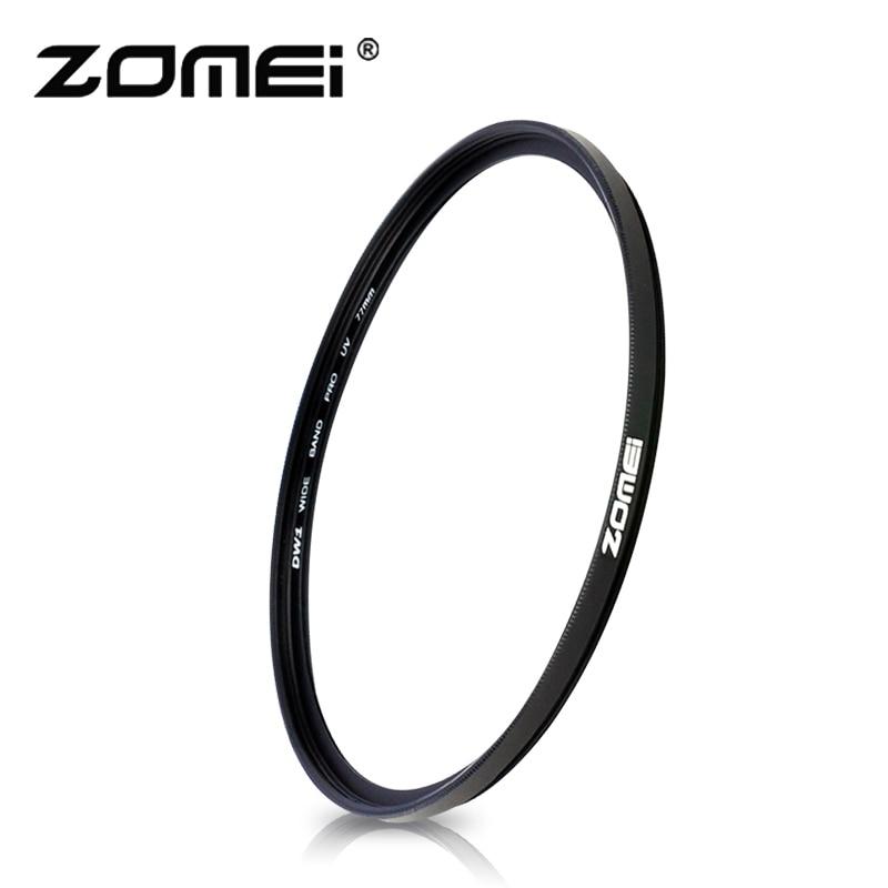 Zomei Caméra Filtre UltraViolet Mince UV Mince MCUV Filtre Filtro 40.5 49 52 55 58 62 67 72 77 82mm Protecteur D'objectif Pour Canon Nikon