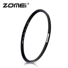 Zomei Camera Lọc Tia Cực Tím Slim UV Slim MCUV Filtro 40.5 49 52 55 58 62 67 72 77 82mm Bảo Vệ Ống Kính Cho Canon Nikon
