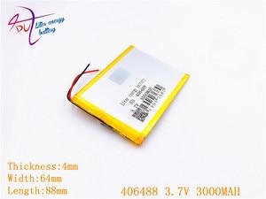 Image 3 - Imballaggio di sicurezza Anti Statica Shelding Sacchetto 406488 3.7 V 3000 MAH 406590 Li Ion batteria Tablet pc Per Il 7,8, 9 pollici agli ioni di litio Polimero