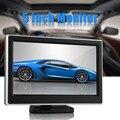 5 Pulgadas TFT LCD a Color de Panel Digital de Alta Definición de Visión Trasera Aparcamiento Monitor Retrovisor Monitor de Cámara de Marcha Atrás de Copia de seguridad