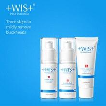 WIS to blackhead shrink pores set men and women sucking blackheads acne export liquid tearing mask nasal stickers