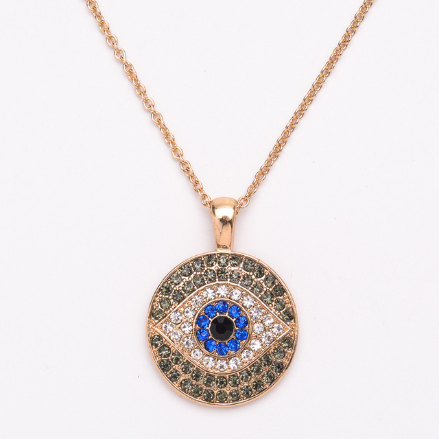 2017 fashion jewelry wholesale eye pendant necklace women evil eye 2017 fashion jewelry wholesale eye pendant necklace women evil eye necklace sweater chain necklace accessories aloadofball Gallery