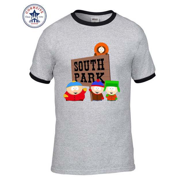Cartoon Sitcoms SOUTH PARK Funny T Shirt for men 2