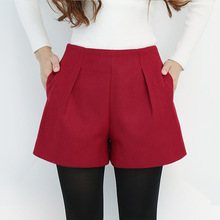 New 2018 Korean Style Women Shorts Candy Color High Waist Casual