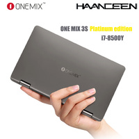 One Mix 3S Platinum Edition Yoga Pocket Laptop Intel Core i7 8500Y Dual Core 8.4 IPS 16G 512G Dual Band WIFI Type C Gift Bag