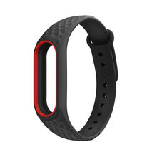 Bracelet Mi Band 2 Accessories Miband Smart Watch Mi 2 for Xiaomi mi Band 2 Sport Silicone Wrist Strap Original Wristband(China)