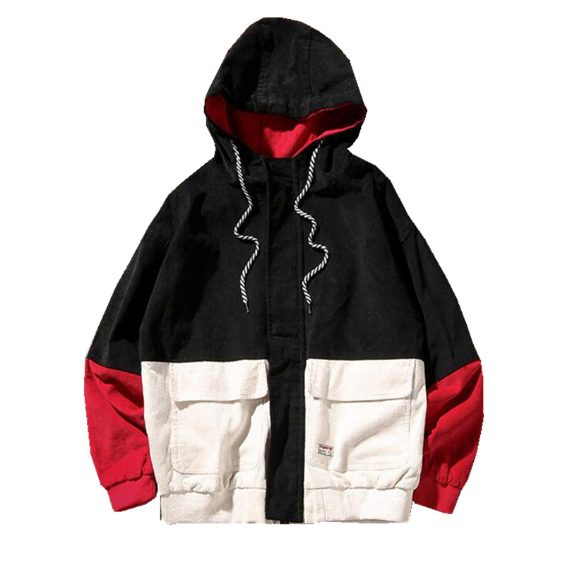 HTB1ApGaLNYaK1RjSZFnq6y80pXaG Bella Philosophy Long Sleeve Corduroy Women jacket Spring women Jacket plus size women Zipper female coat color block Patchwork