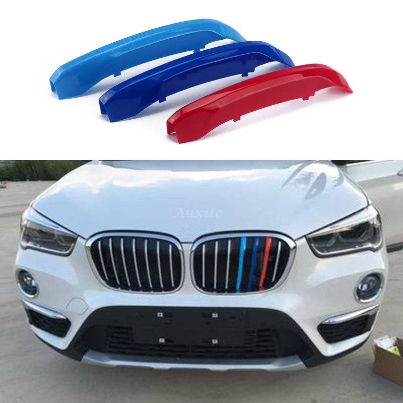 Bmw X1 M Sport: For BMW X1 F48 2016 TO 2017 Front Grill Trim Sport Stripes