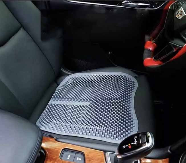 10pcs/lot Car Seat Cushions Massage Silicone Breathable Silica Car Seat Covers Office chair cushion Health Care