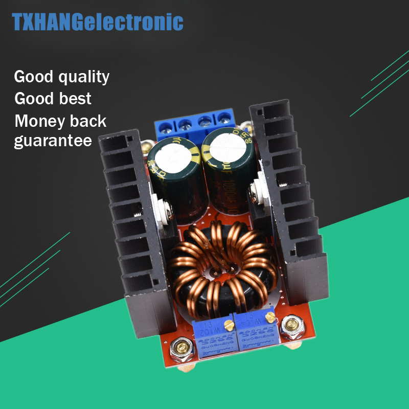 Temperate High Frequency Max 8a Dc-dc Step Up Isolation Booster Power Supply Converter Module Boost Board Solar Battery Charger Charging Punctual Timing Integrated Circuits Electronic Components & Supplies