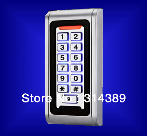 S600EM Aluminum metal casing.2000 USERS,Keypad password,backlight,EM card,standalone access controllerS600EM Aluminum metal casing.2000 USERS,Keypad password,backlight,EM card,standalone access controller