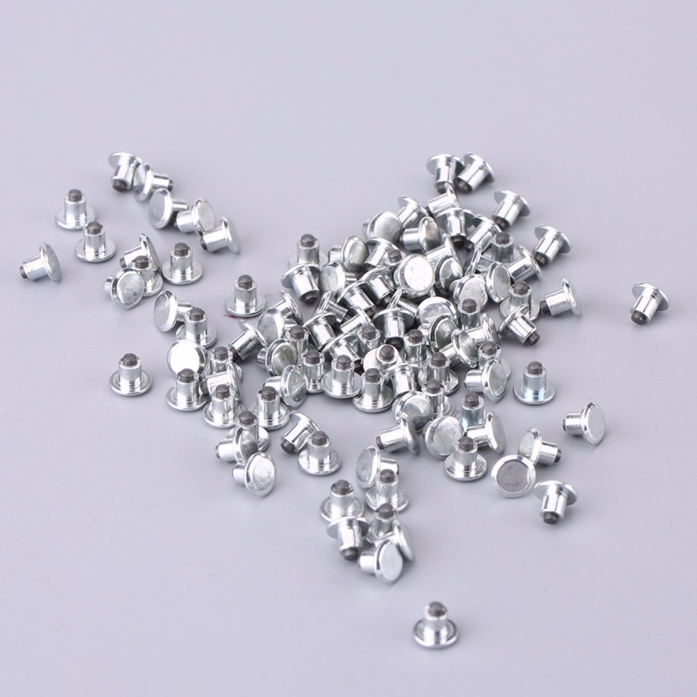 100pcs Car Wheel Tyre Stud Screws Snow Tire Spike Snow Spikes Wheel Tyre Chains Studs for