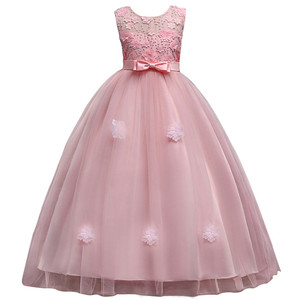 Image 4 - New Princess Girls Dresses Lace Flower Girl Dresses  Tulle Girls Pageant Dresses First Communion Dresses Party Gowns