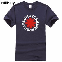 New Rock Brand Red Hot Chili Peppers T Shirts Cotton Mens T Shirt Camisetas Hombre Nk