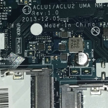 CPU Laptop Motherboard Main-Board G40-70 LENOVO NM-A272 Aclu1/aclu2 NEW FOR ./Cpu/3558u-sr1e8