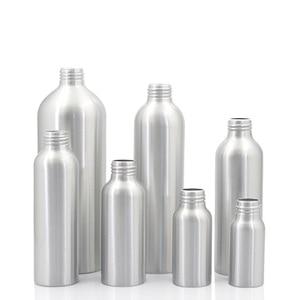 Image 3 - Sedorate 20 pcs/Lot Empty Aluminum Bottles With Aluminum Screw Lid Caps 30ML 50ML 100ML 120ML 150ML 250ML 500ML Container JX156